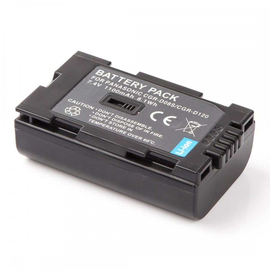 MadMan Baterie pro Hitachi a Panasonic CGR-D120/D08s