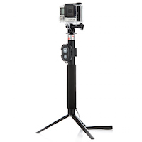 Kompatibilní s akčními kamerami a GoPro